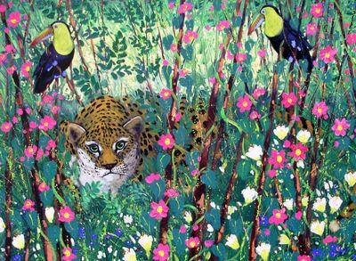Toucans and Jaguar