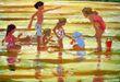 CHILDREN ON THE BEACH 1