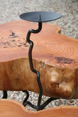 cedar table detail
