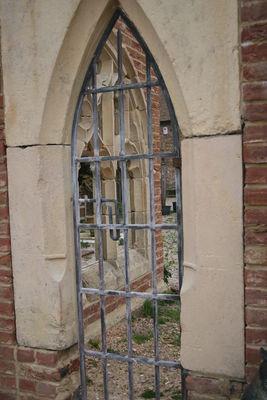 acid washed cloister gate