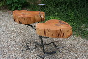 cedar twin root table