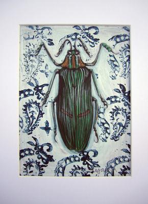 Green Stripe Bug