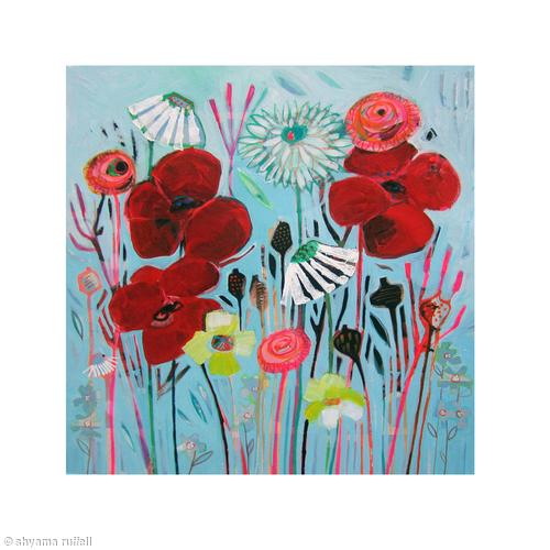 Flowery Poppet