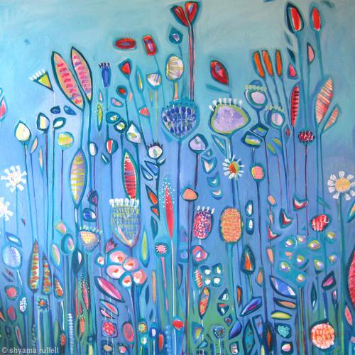 Big Blue Garden