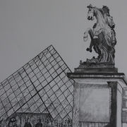 King Louis XIV on is Horse, The Louvre