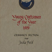 Young Craftsman of the Year Competition Certificate