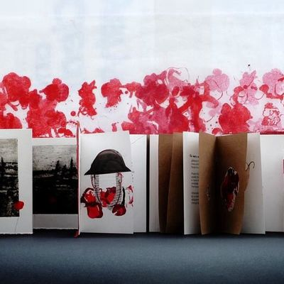Books and Poppies