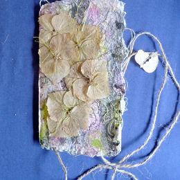 Hydrangea Notebook