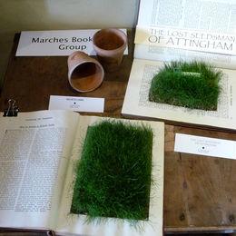 Altered Books in  Attingham Park Bothy (National Trust)