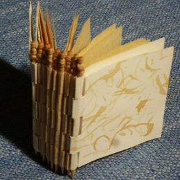 Toothpick Piano Hinge Book