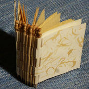 Toothpick Piano Hinge Book