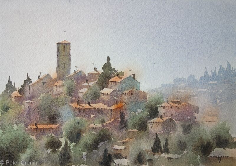 A Tuscan Hill town