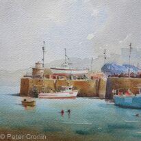 Old harbour Newquey
