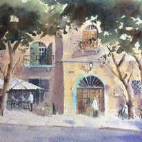 Cafe Lucca Tuscany