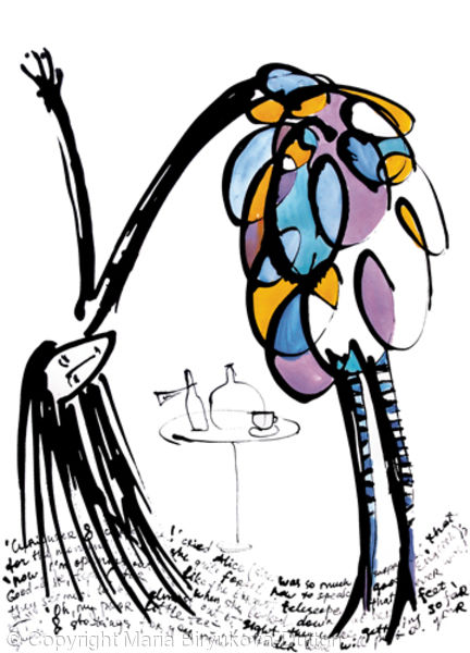 Alice in Wonderland 1 (series of 4 works)