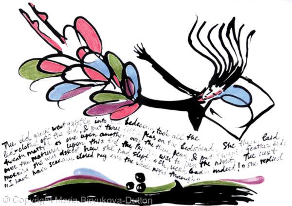 Four Fairytales: Princess on Peas