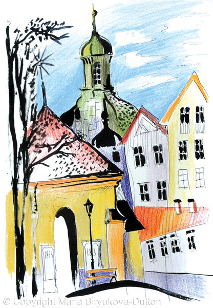 Vanersborg Church. 5 000 SEK