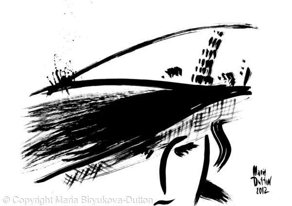 Italian Hat Black/White