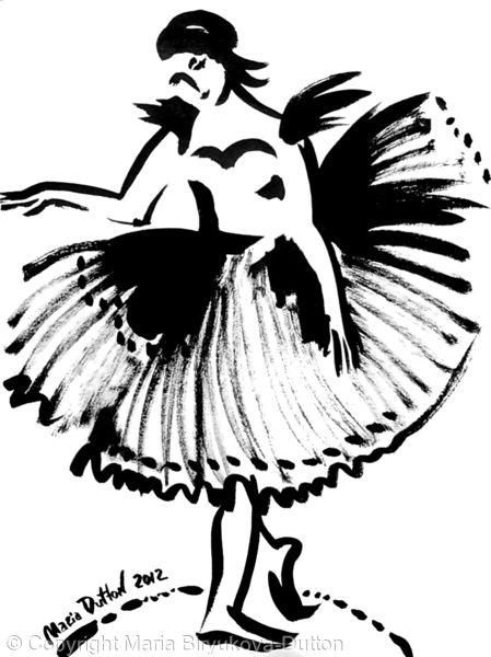 Ballerina's skirt Num 4