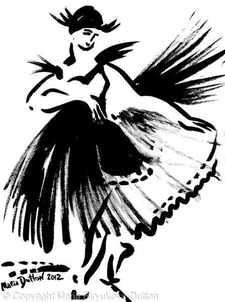 Ballerina's skirt Num 1