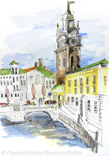 Deutsch Kirche. Goteborg