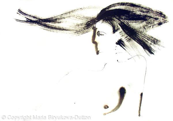 Naked Model Portrait