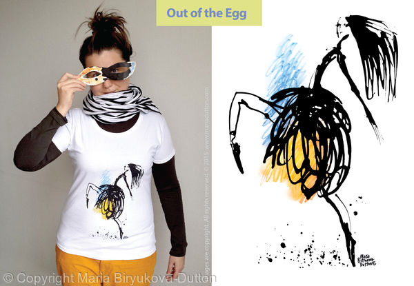 Out of the Egg t-shirt £20 / 250sek