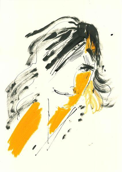 Mia H. The orange woman.
