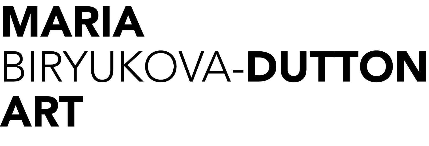 Maria Biryukova-Dutton Art