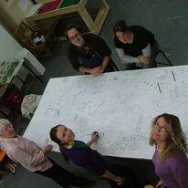 Drawing the Big Draw Monoprint