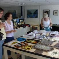 Felt-making Workshop during the Open Studios