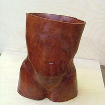Ceramic Torso by Ian Hutchinson