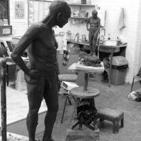 Standing figure by Lynette Merrick