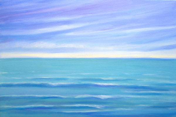 Deep Blue seascape