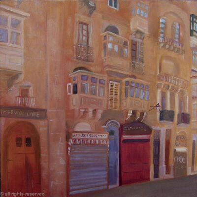 Afternoon in Valletta