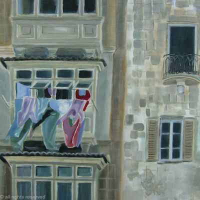 Washday in Malta