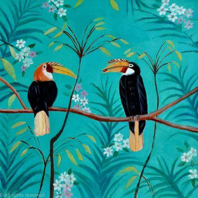Indian hornbills Sold