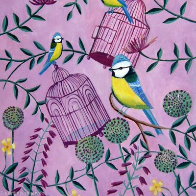 Birdcages and bluetits