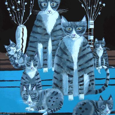 Tabby family SOLD