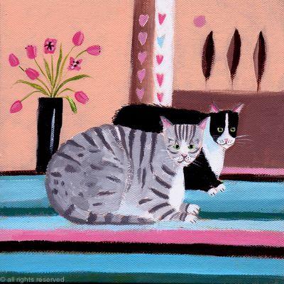 Cat companions Sold