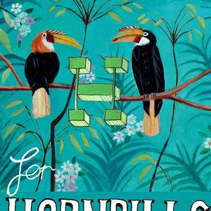 H for hornbills