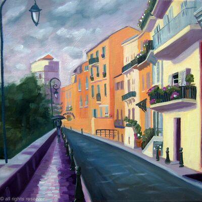Monaco rain
