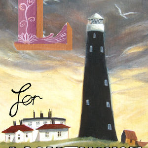 L for lighthouse
