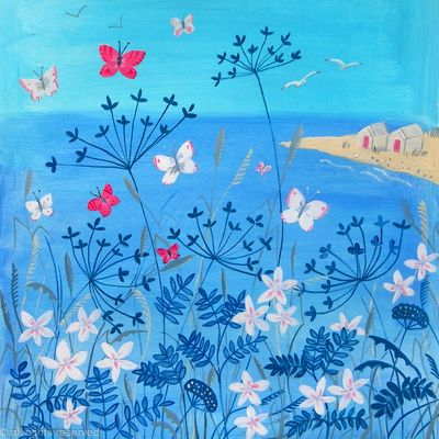Butterflies by the Sea SOLD