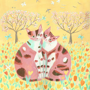 Cats in Spring