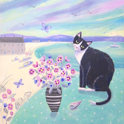 A Cat in Cornwall