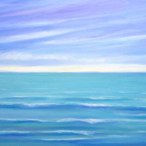 Deep Blue seascape
