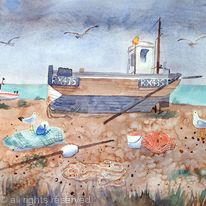 Boats by the Sea