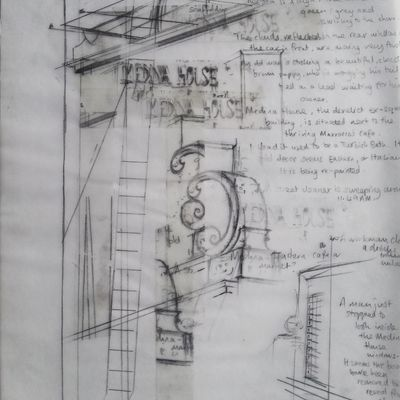 'Memento' installation (detail)