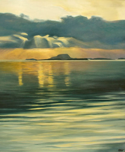 Clare Island from Westport